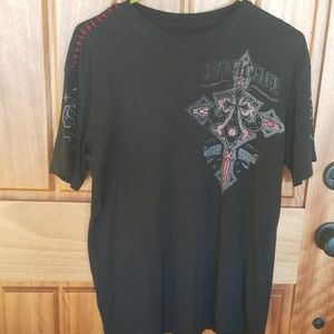 Affliction mens tee shirt